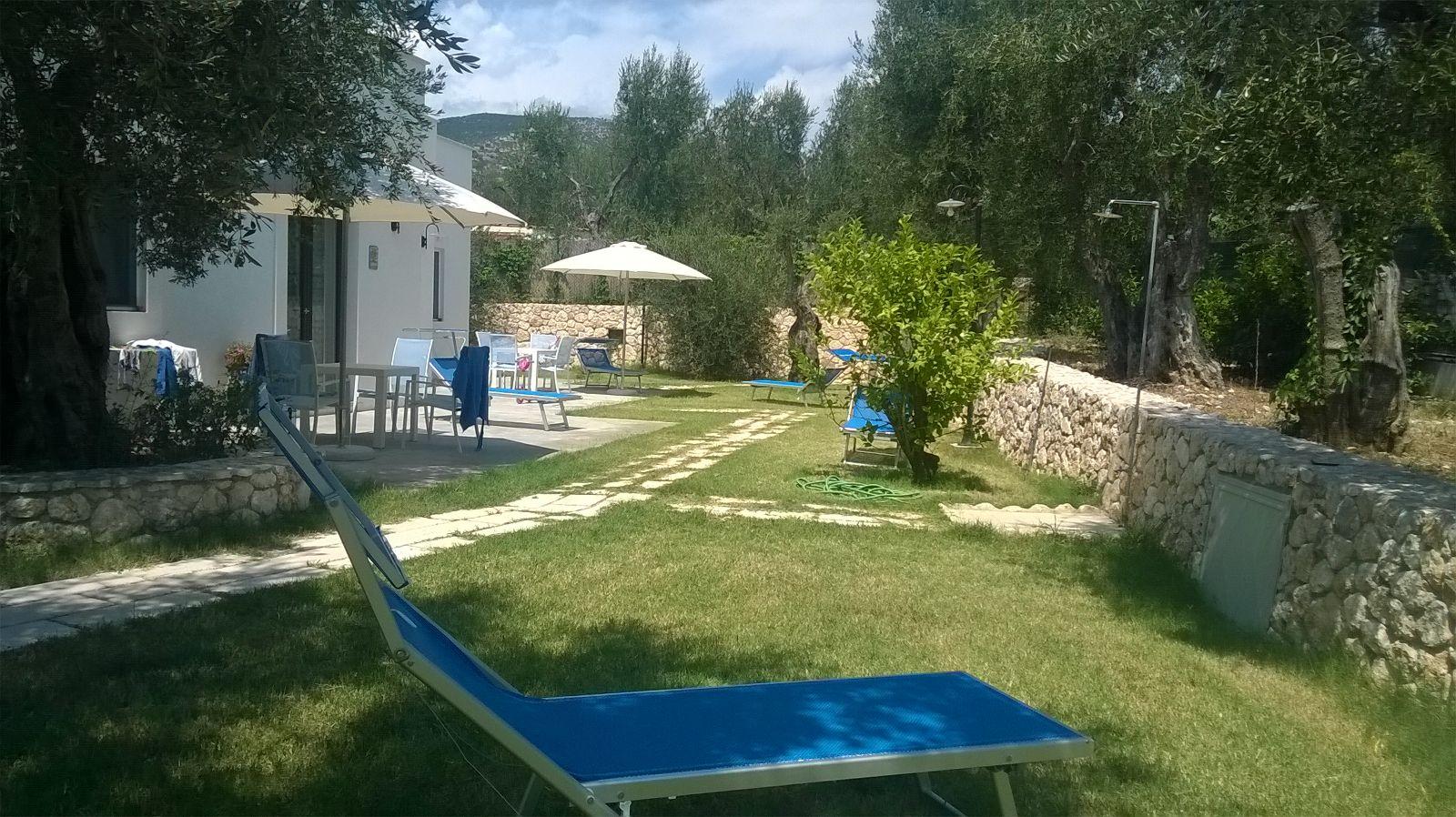 Patio e giardino Casa Limone